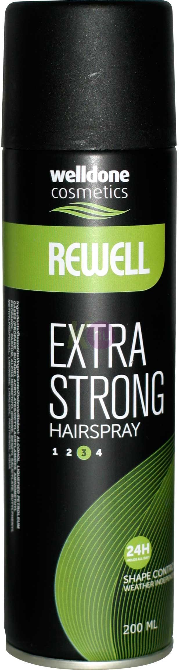 Rewell hajlakk 500ml extra strong 10020083