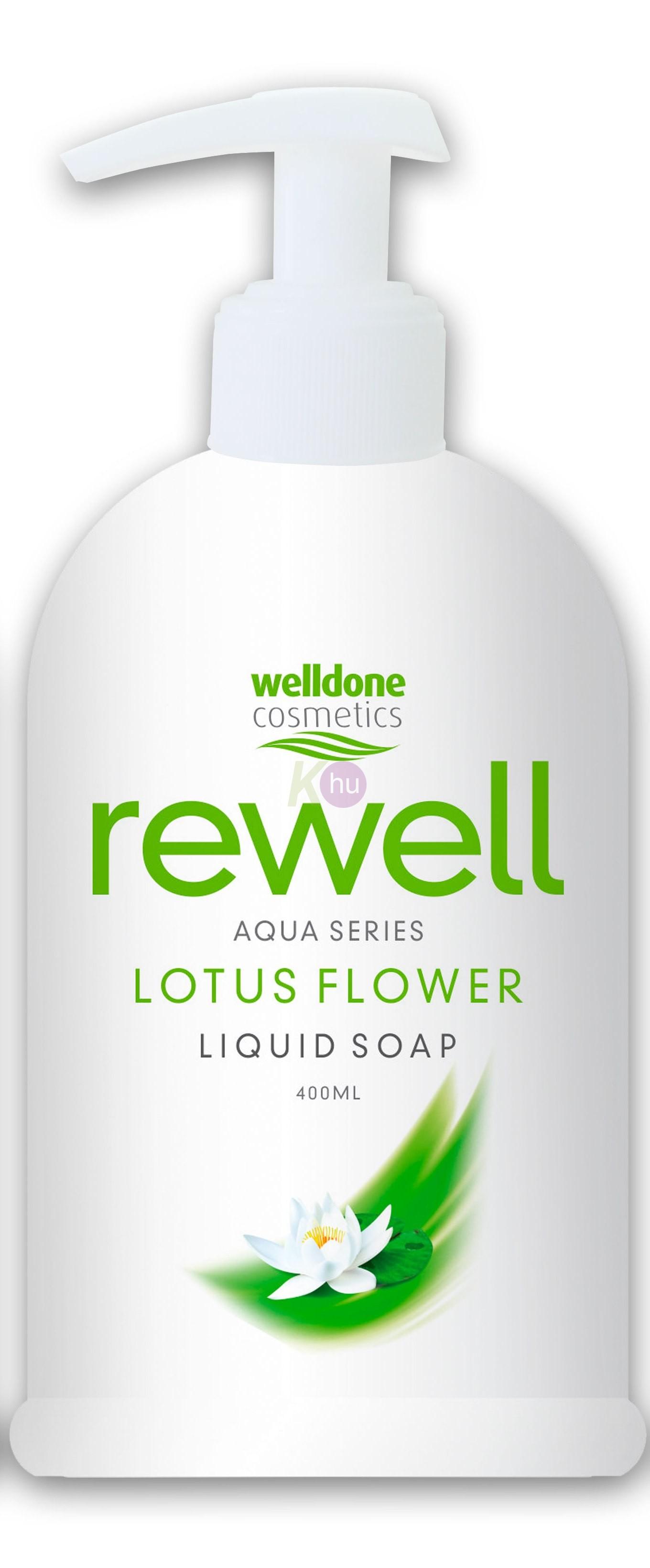 Rewell foly.szap 400ml lotus flower 10020089