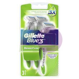 Gillette Blue3 eldobható borotva 3db Sensecare 11000502