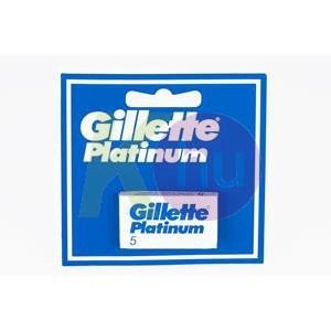 Gillette Gillette Platinum penge 5db 11000545
