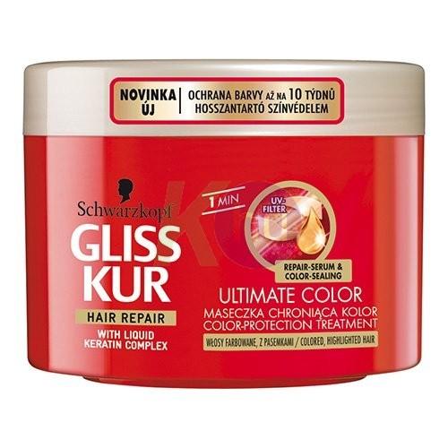 Gliss Kur azonnali hajreg. pakolás 200ml Ragyogó szín 11006150