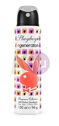 Playboy deo 150ml noi Generation 11077645