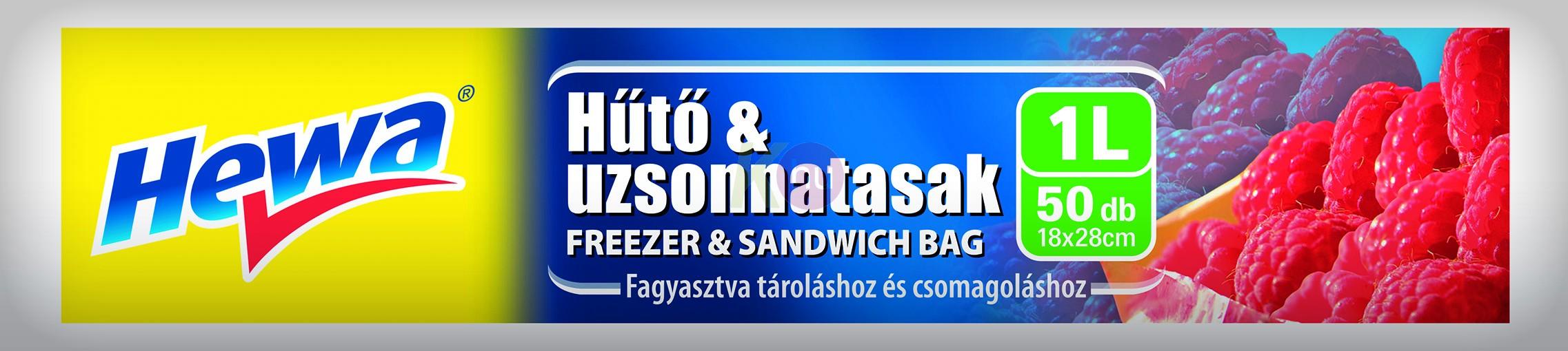 Hewa Hűtő & uzsonnatasak 1 l/50 db 11125073
