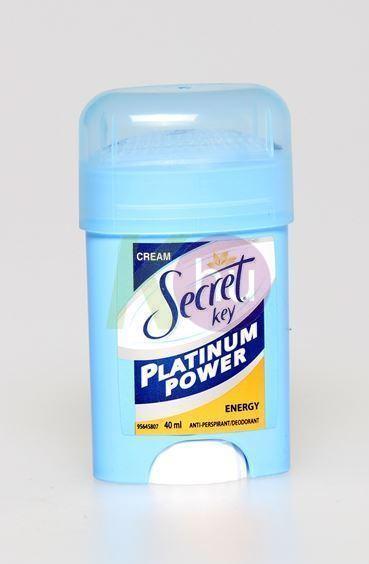 Secret platinum kremdeo 40ml Energy 11400500