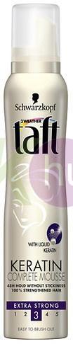 Taft hab 200ml compl. keratinos extra erős 11950111