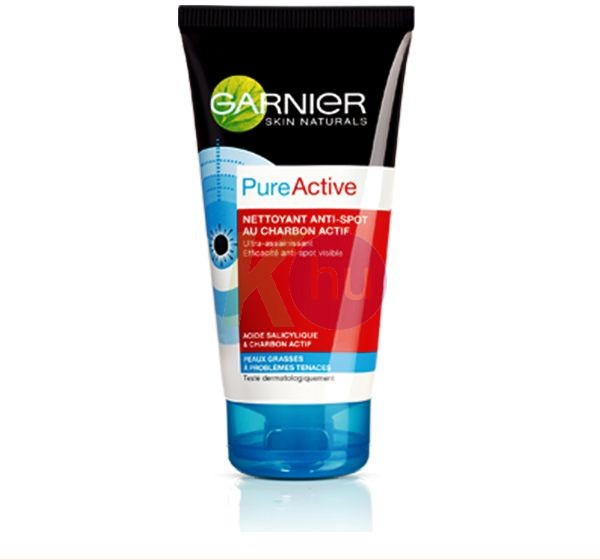 Garnier skin naturals Garnier s.n. PureActive bőrradír 150ml Patt.ellen aktiv szénnel 11984194