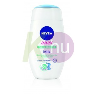 Nivea Baby testápoló tej 200ml Pure & Sensitive 12026500