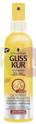 Gliss Kur Wonderserum pakolás 200ml tápláló olaj 12714315
