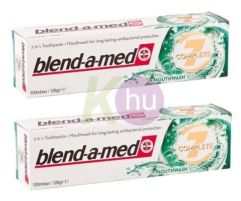 Blend-a-med BAM DUO 2*100ml Complete MonthWash 13013864