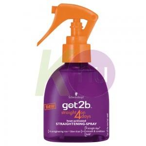 """Got2b hajkiegyenesítő spray 200ml """"Straight on"""" 13018010"""