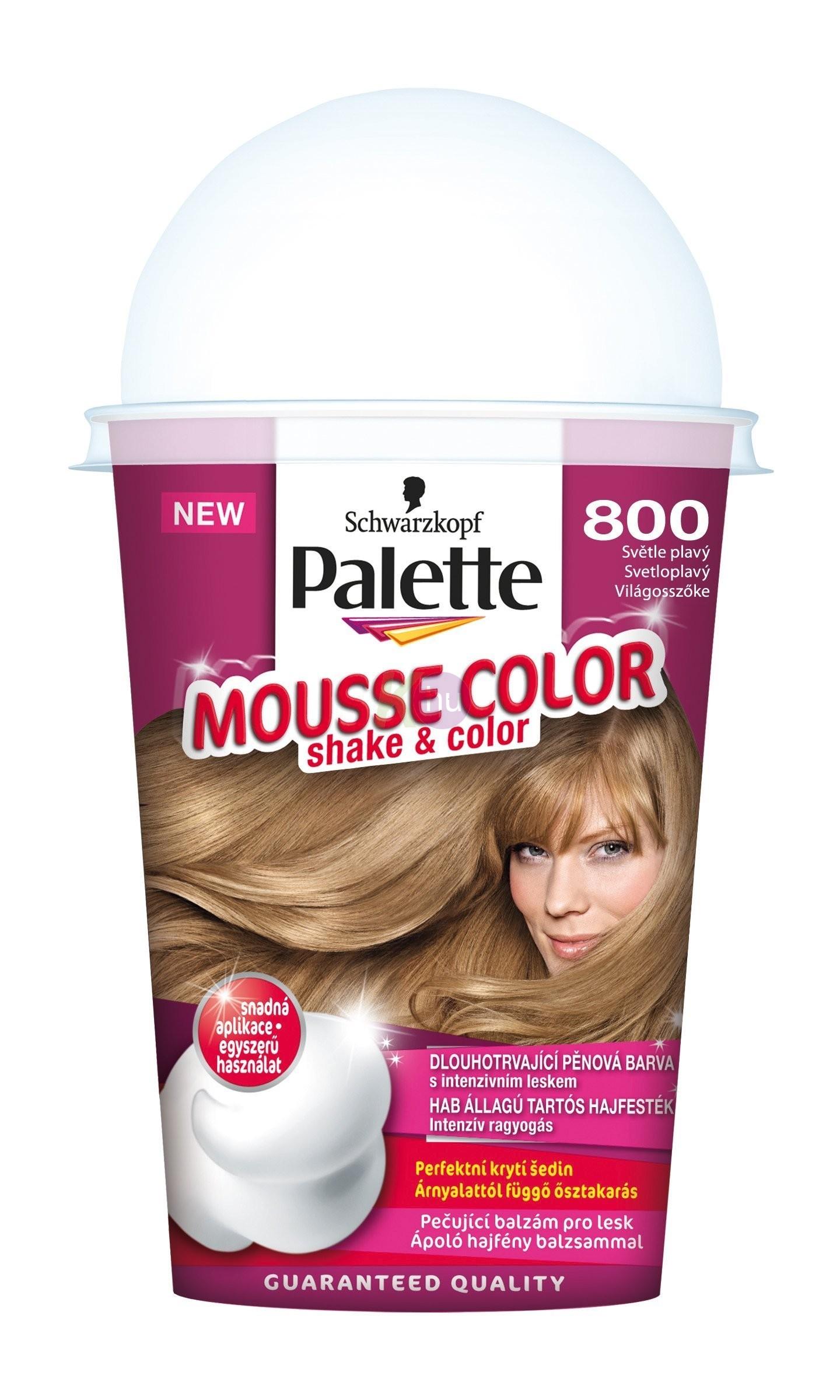 Palette Mousse Color 800 világosszőke 13100868