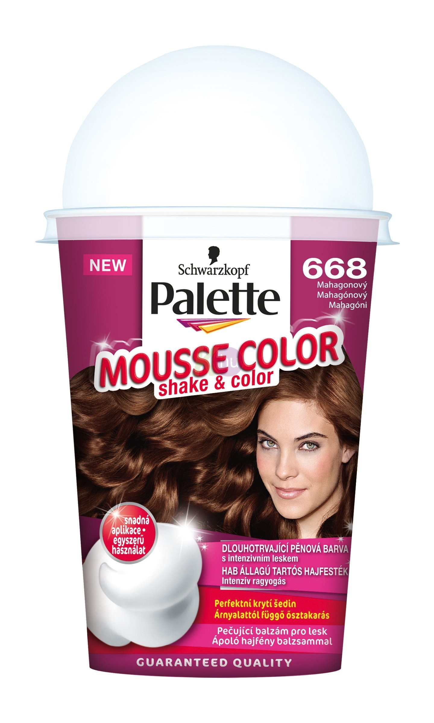 Palette Mousse Color 668 mahagóni 13100870