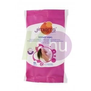 JimJams nedves intim törlőkendő 10db-os 14098501