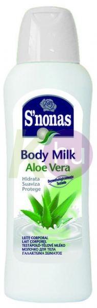 SNONAS testápoló 400ml Aloe Vera 14207101