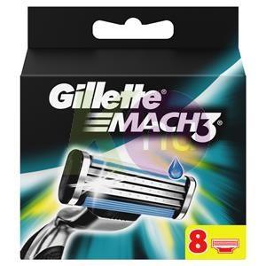 Gillette Gillette Mach3 betét 8db 15039008