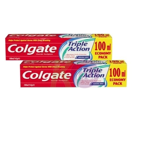 Colgate Colg. fogkrem DUO 2x100ml Triple Action 16001720