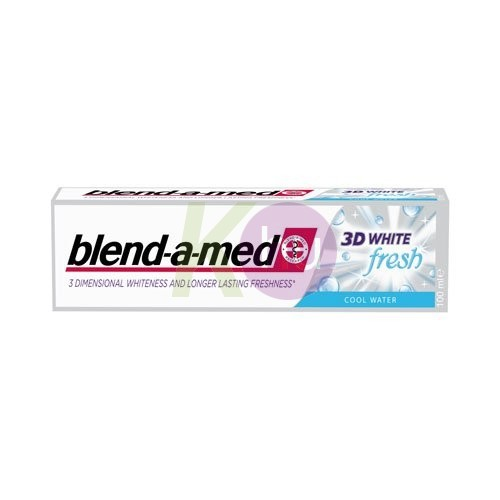 Blend-a-med BAM 100ml 3D white fresh cool water 16015201