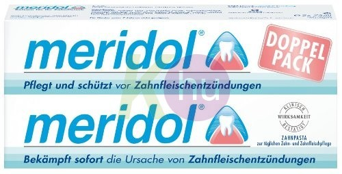 Meridol fogkrém DUO 2*75ml 16034554