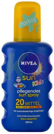Nivea napozo spray F20 gyerek 17020700
