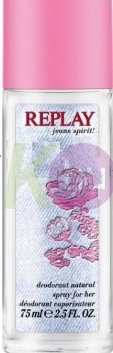 Replay Jeans Spirit noi pumpás 75ml 18945731