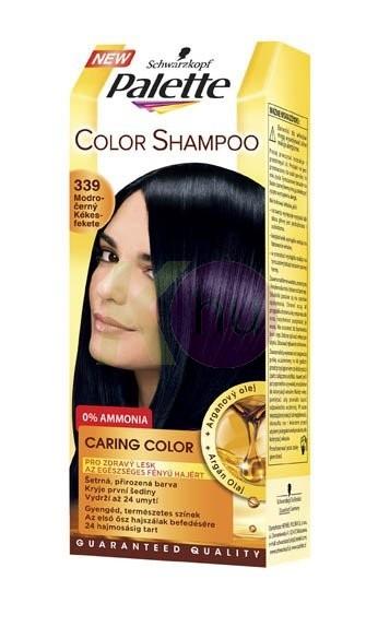 Palette Color Shampoo hajszínező 339 kékesfekete 19075023