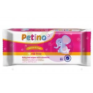 Petino törlőkendő 72+12db 19136877
