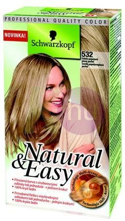 Natural&Easy hajfestek 532 világos hamvas gyöngyházszőke 19210100