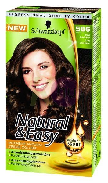 Natural&Easy hajfesték 586 Sötétbarna 19211702