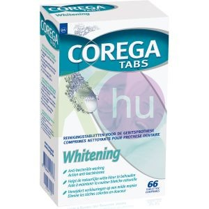 Corega Tabs DUO 2x30db Whitening 19337023