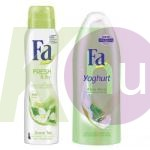 Fa 15 kar.csom Joghurt&Aloe Vera tus 250ml + Fresh&Dry Zöld Tea deo 150ml 19727313