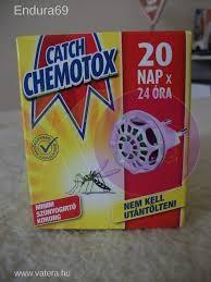 Chemotox Elekt. szúnyogírtó egyszer használható 22043900