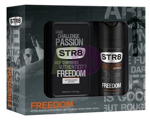 STR8 kar.csom Freedom deo 150ml + tus 250ml 22221160