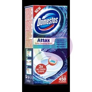 Domestos Attax WC tisztito csik 3x10g Ocean 23013508