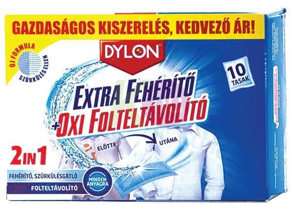 Dylon / K2R extra fehérítő és oxi folteltávolító 10db 24076419