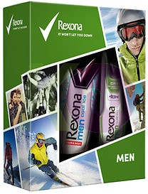 Rexona 15 kar.csom Men Quantum deo 150ml+Cool Ice tus 250ml 24158958