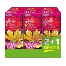 Glade by Brise One Touch ut. 2+1 3*10ml Sparkling Floral 25000332