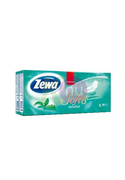 Zewa Softis p.zsebkendő 6x9 menthol 31000510