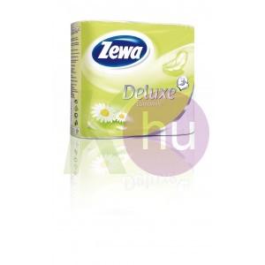Zewa Deluxe 3 rétegű toalettpapír 4 tekercs kamilla, fehér 31000526