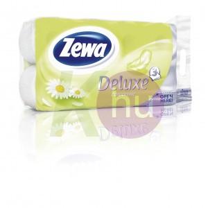 Zewa Deluxe 3 rétegű toalettpapír 8 tekercs Kamilla fehér 31000530