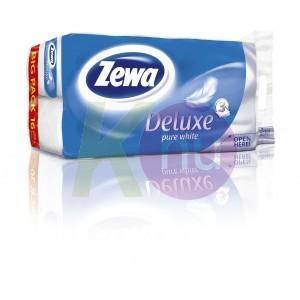 Zewa Deluxe 3 rétegű toalettpapír 16 tek. tiszta fehér 31000552