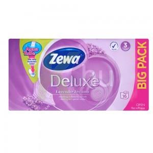 Zewa Deluxe 3 rétegű toalettpapír 16 tek. Lavender Dreams 31000576