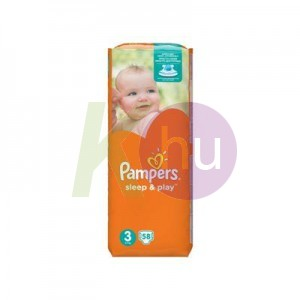 Pampers sleep&play midi58    (3)   4-9 kg 31001535