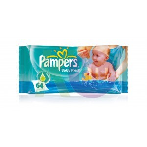 Pampers törlőkendő 64db Baby Fresh 31098701