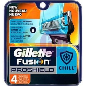 Gillette Fusion Proshield Chill betét 4db 32002765