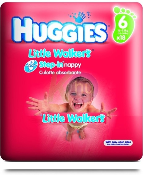 Huggies Little Walkers L nadrágpelenka  (5) 32100632