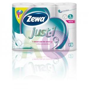 Zewa Just 1 5 rétegű toalettpapír 6 tek. 33547816