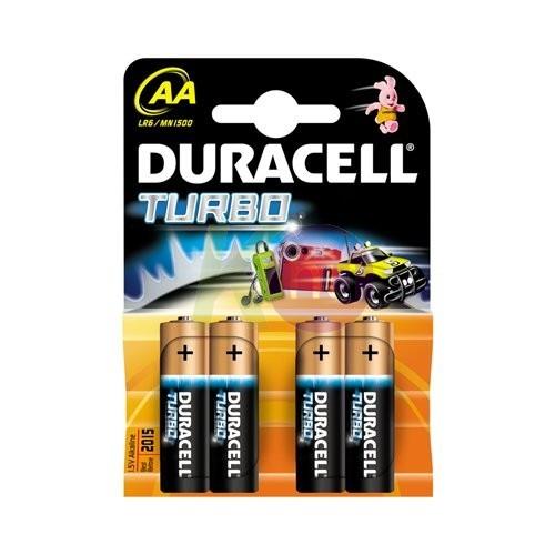 Duracell Turbo MN1500/ ceruzaelem 4db 51000318