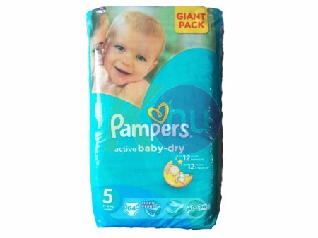 Pampers Aktív Baby Giant Pack Junior 64 - H 52141449