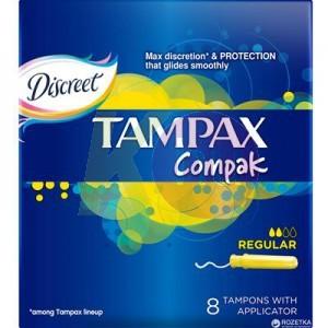 Tampax Compak tampon 8 Regular 52141716