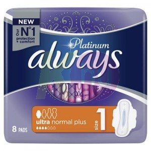 Always Pad Ultra Platinum Normal 8 52141742